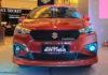 Maruti Ertiga cross 6 seater rendering