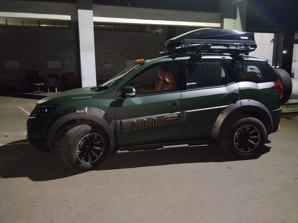 This Official Mahindra Xuv 500 Modification Is Extremely Luxurious