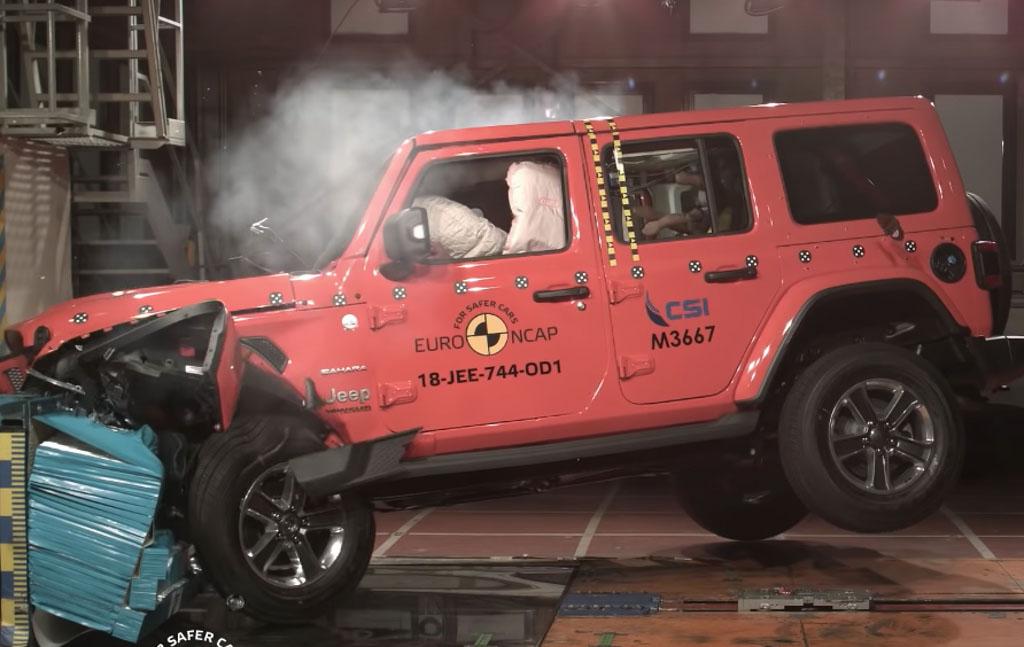 New Jeep Wrangler Euro NCAP 1