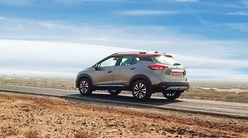 Nissan Kicks suv rear