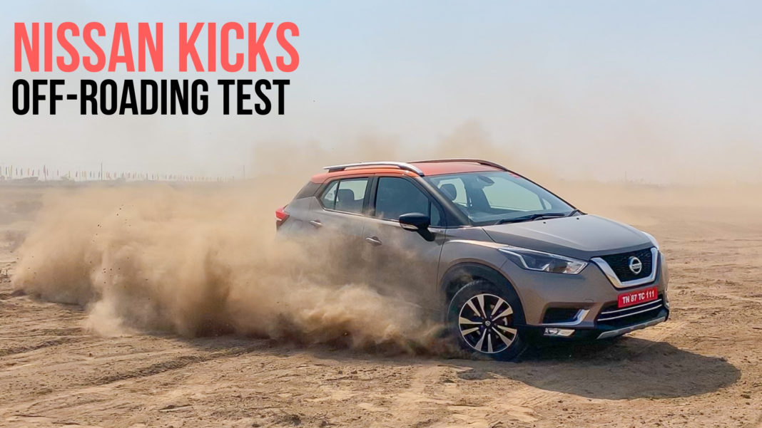 Off-roading with Nissan Kicks