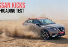 Off-roading with Nissan Kicks