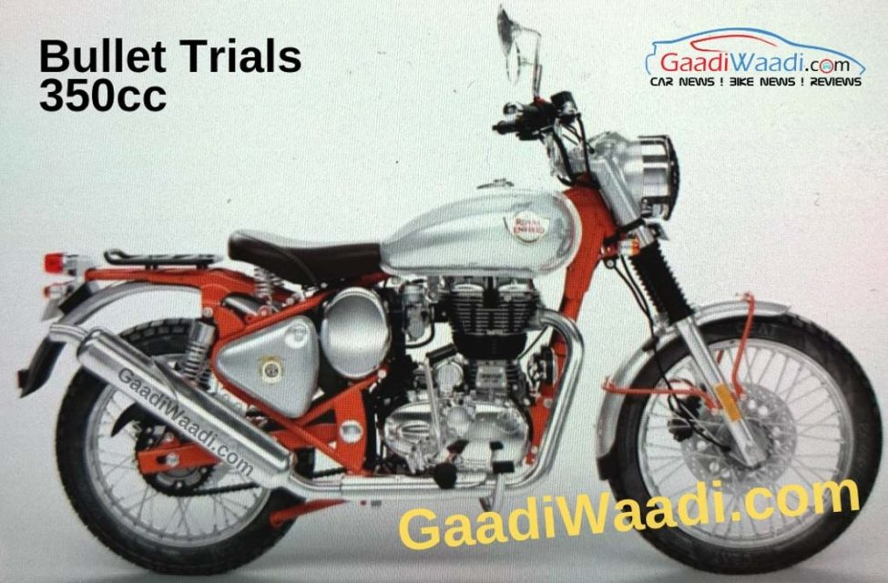 Royal Enfield Bullet Trials 350