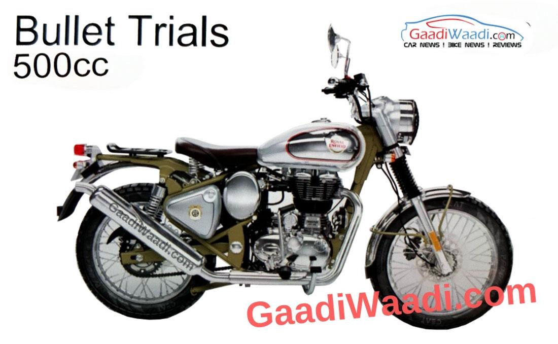 Exclusive Pics Royal Enfield Bullet Trials 350trials 500 Coming Soon