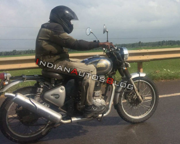 Royal Enfield Scrambler 500 Spotted 1