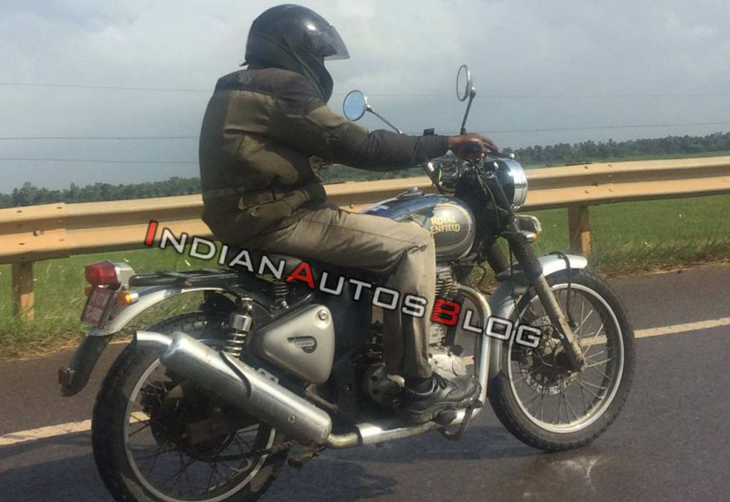 Royal Enfield Scrambler 500 Spotted