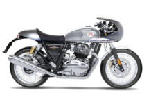Royal enfield interceptor 650 rendering with custom cafe racer style