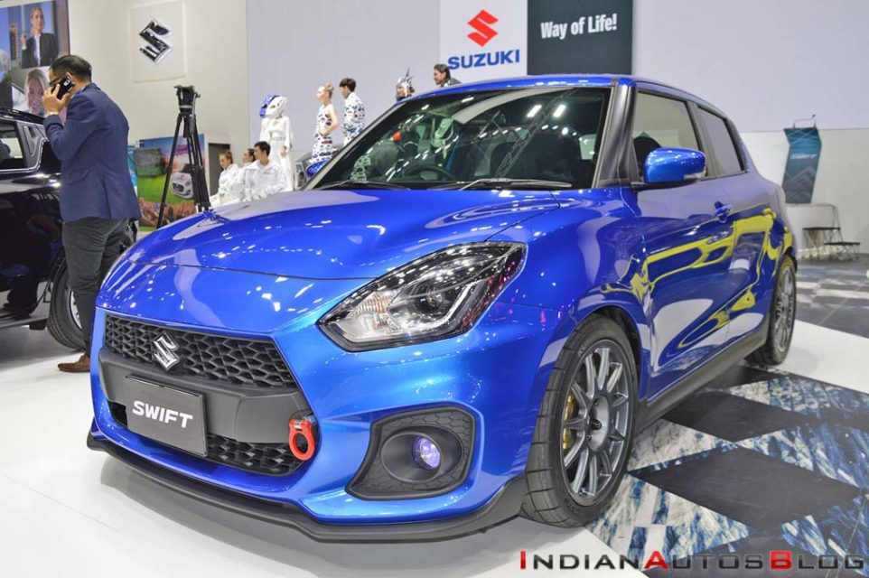 Speedy Blue Metallic Custom Suzuki Swift 3