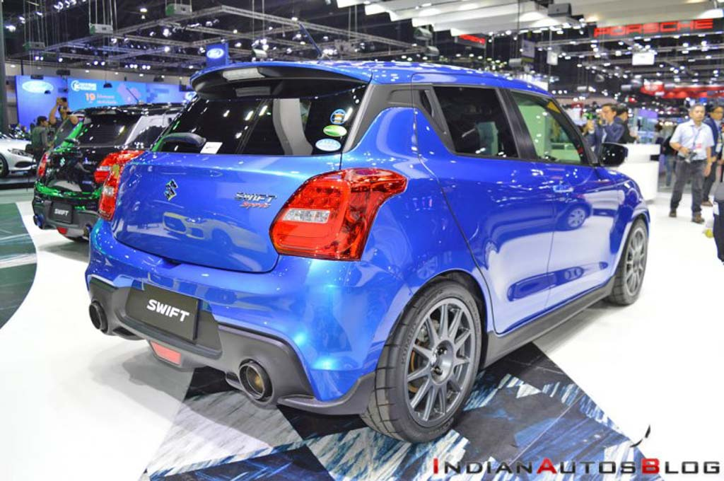 Speedy Blue Metallic Custom Suzuki Swift Side