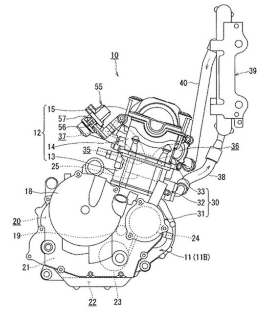 Upcoming Suzuki Gixxer 250s Engine Patent Image Leaked Online