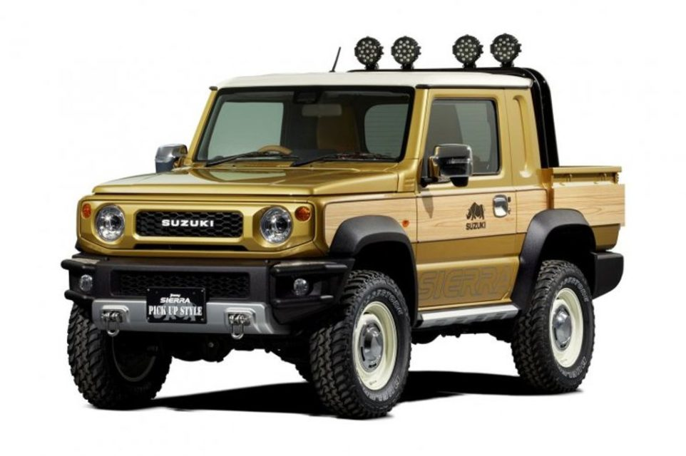 Suzuki-Jimny-Sierra-pick-up-concept