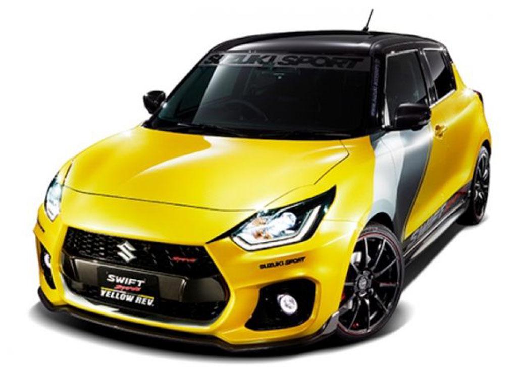 Suzuki Swift Yellow Rev Concept 2019 Tokyo Auto Salon