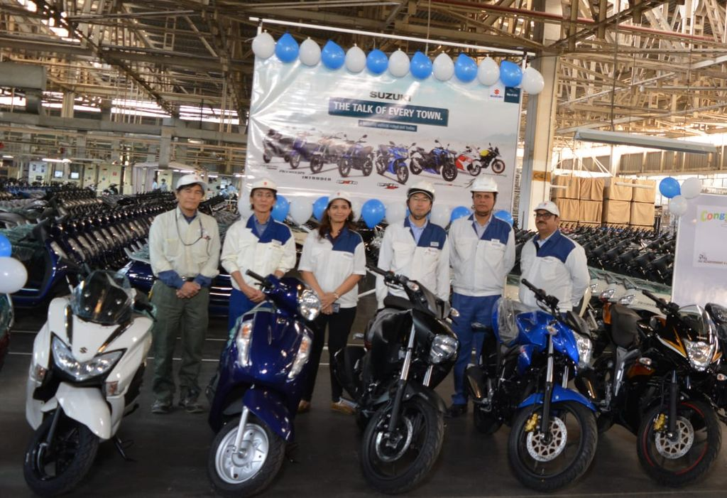 Suzuki-rolls-out-four-millionth-product-in-India