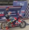 TVS Racing Jagan Kumar INMRC 2018 Champion