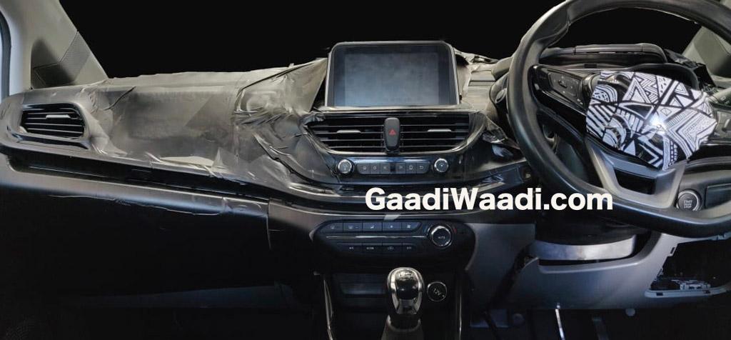 Tata 45X Interior Leaked 1