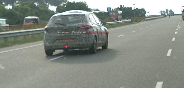 Tata 45x spy shot rear tail light