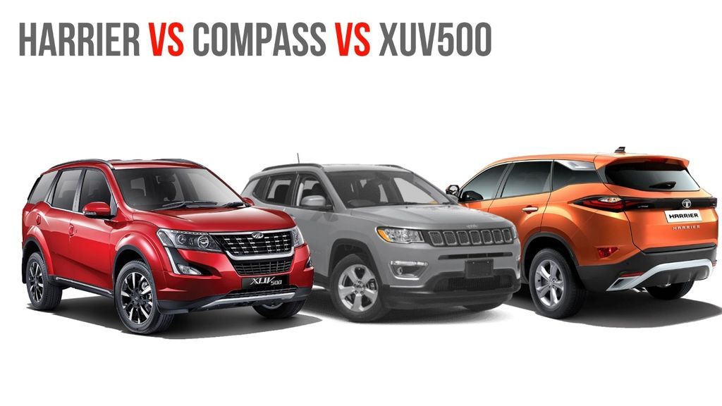Tata-Harrier-vs-Mahindra-XUV500-vs-Jeep-Compass