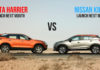Tata Harrier vs Nissan Kicks