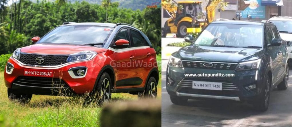 Tata-Nexon-vs-Mahindra-XUV-300-comparison