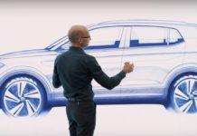 VW-T-Cross-sketch-side-india