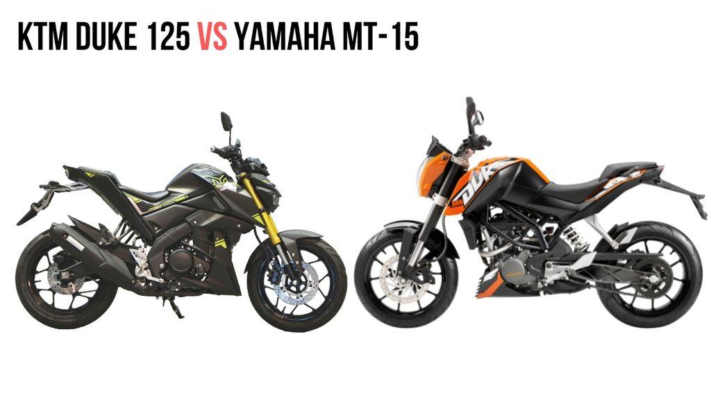 Yamaha MT 15 Facebook: KTM Duke 125 Vs Yamaha MT-15
