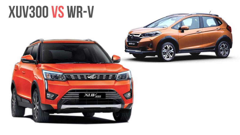 Mahindra XUV300 Vs Honda WR-V