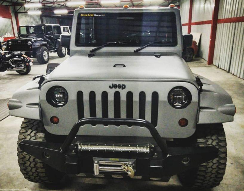 jeep wrangler mahindra bolero