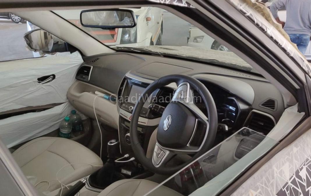 mahindra s201 XUV300 Inferno interior pics-1