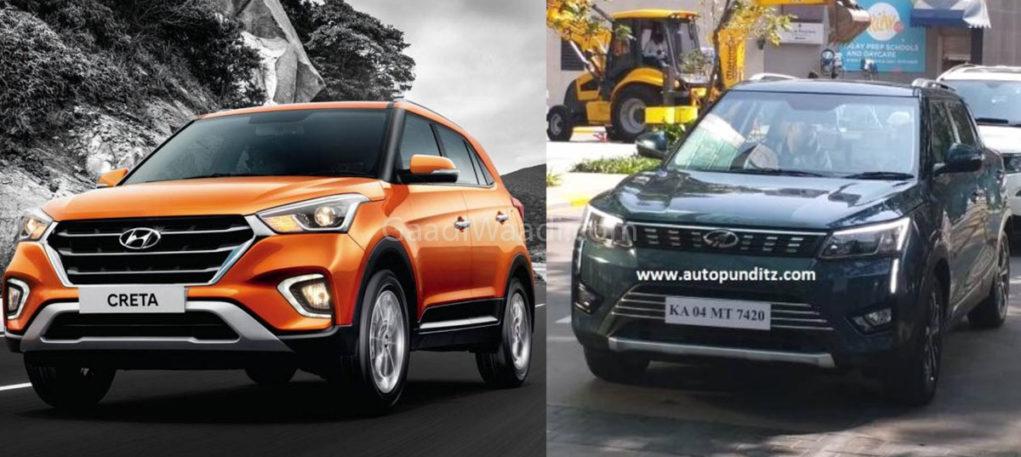 Mahindra Xuv300 Vs Hyundai Creta Design Feature Comparison