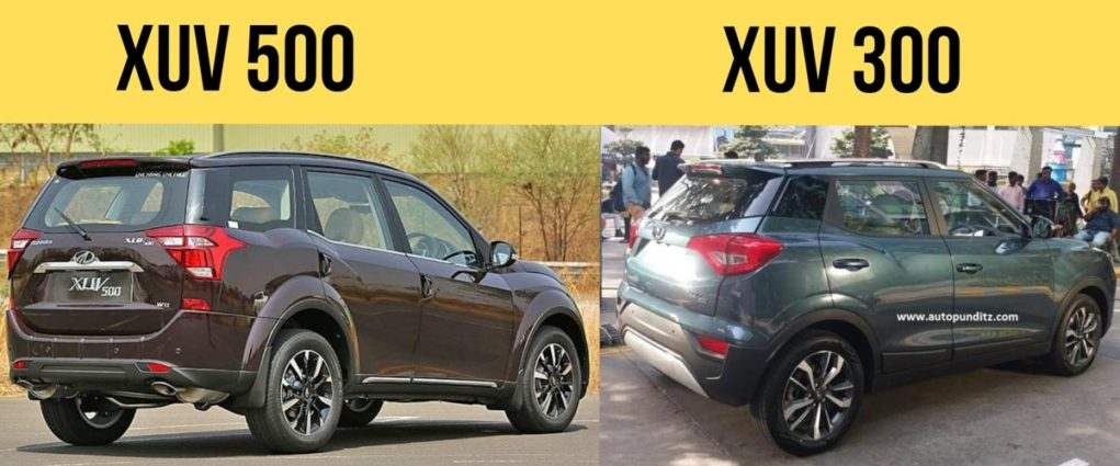 mahindra xuv300 vs xuv500 comparison-23