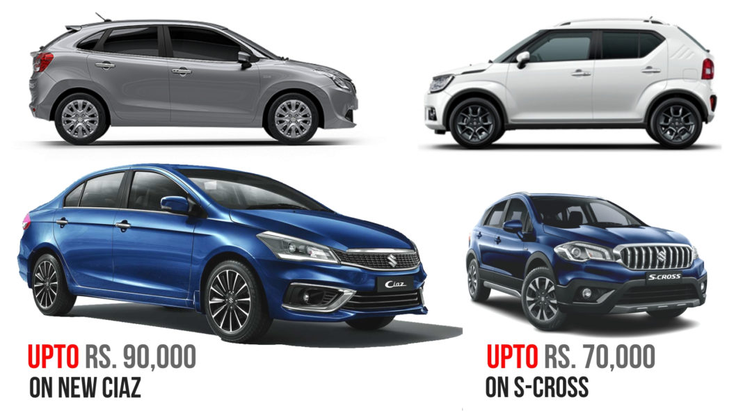 maruti nexa december offers