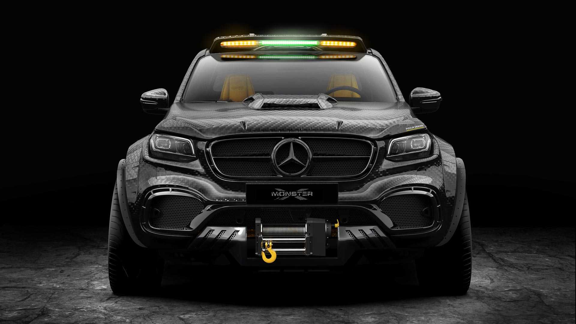 this 6 wheeled mercedes benz x class pickup truck mod is simply outrageous. Black Bedroom Furniture Sets. Home Design Ideas