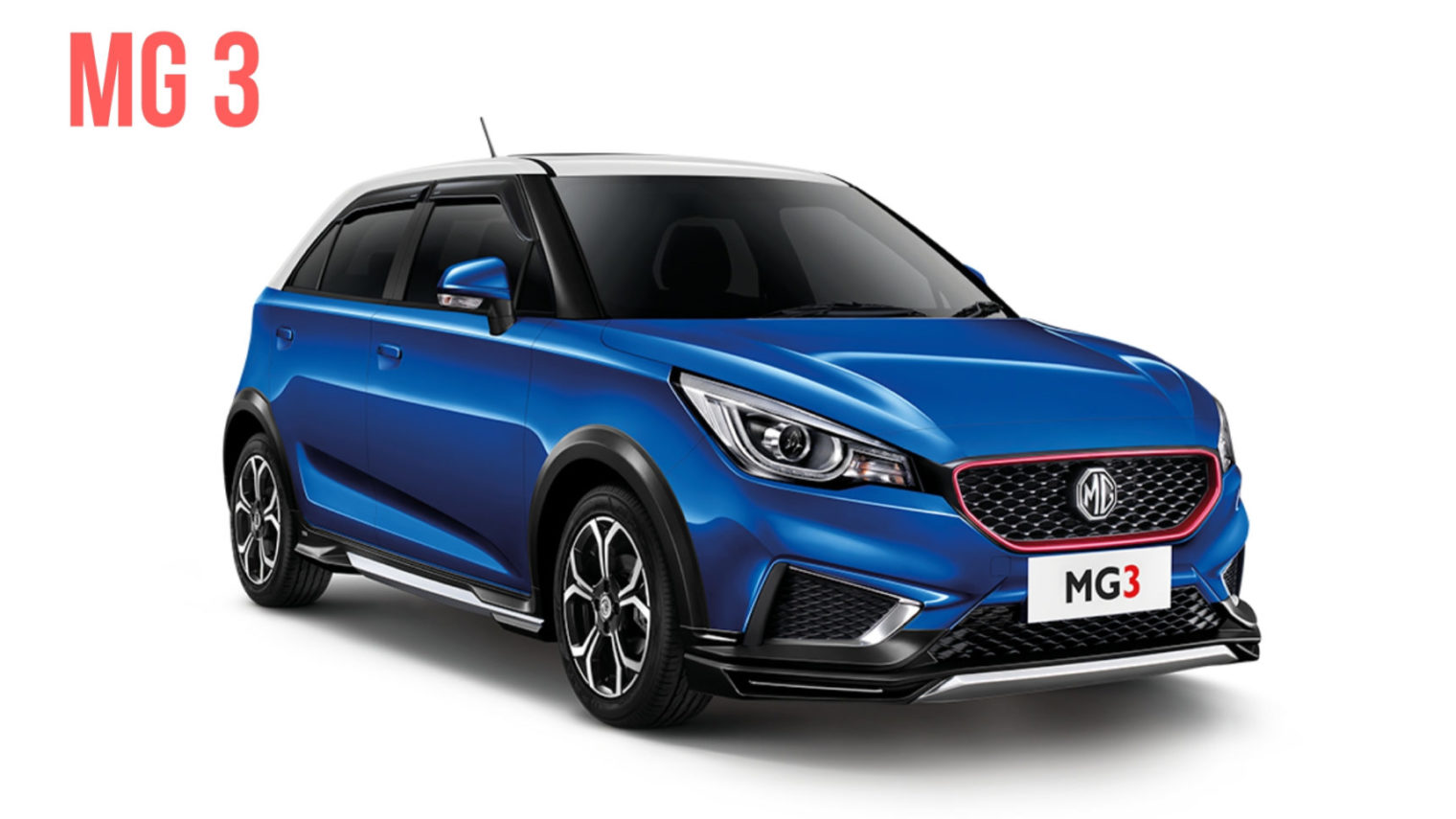Mg 3 Hatchback Showcased In India For The First Time