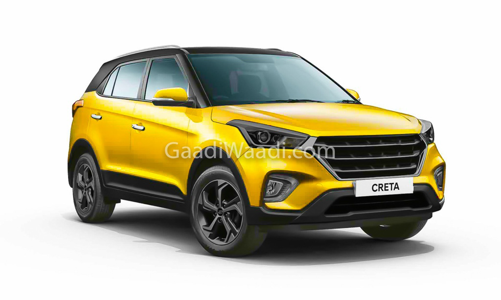 next generation hyundai creta rendered