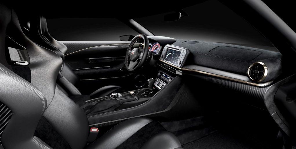 nissan gt-r50 interior