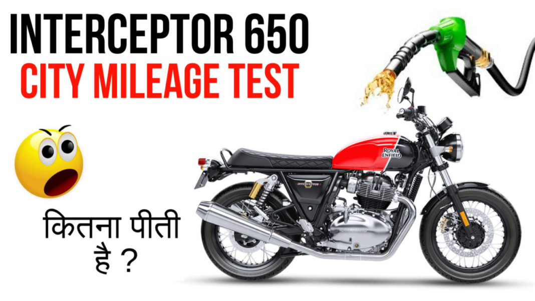 royal enfield city traffic mileage test