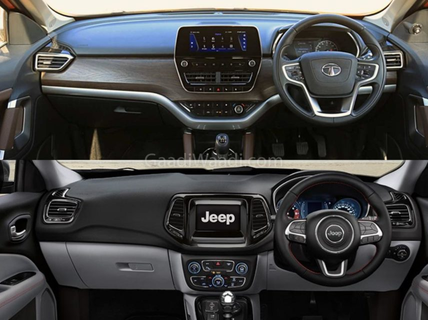 tata harrier vs jeep compass comparison-20