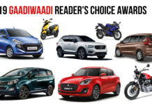 2019 GaadiWaadi Readers Choice Awards - Winners Announced!