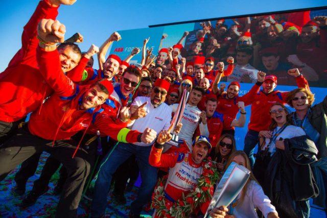2019 Marrakesh ePrix Mahindra Racing Win Jerome d'Ambrosio 4