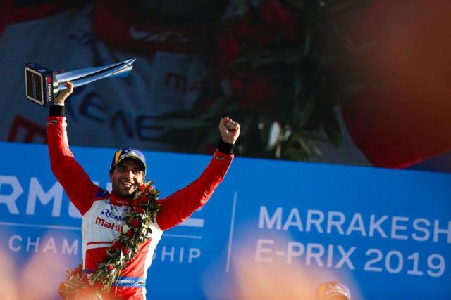 2019 Marrakesh ePrix Mahindra Racing Win Jerome d'Ambrosio