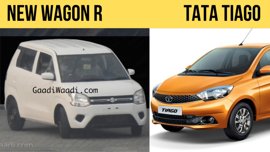 2019 Maruti Wagon R 1.2 vs Tata Tiago