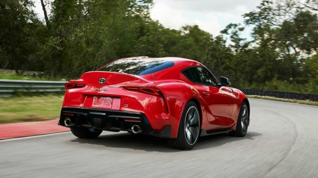 2020 Toyota Supra Rear Tail light