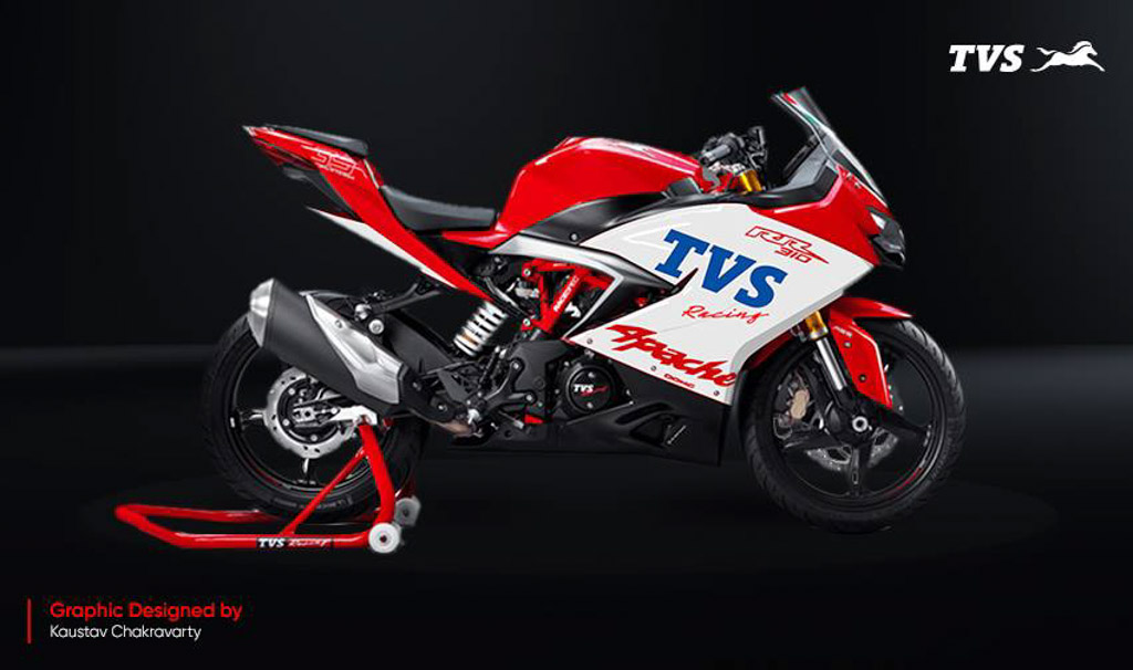 TVS Giving Free Performance Upgrades For Apache RR 310