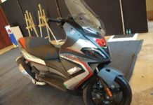 Aprilia-SR-Max-300-Spied-In-India-For-First-Time