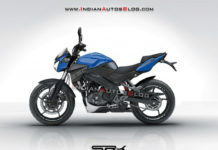 Bajaj Pulsar 250 Rendered
