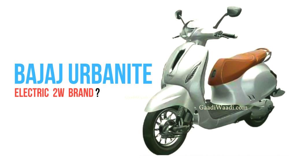 Bajaj Urbanite Electric 2W Brand