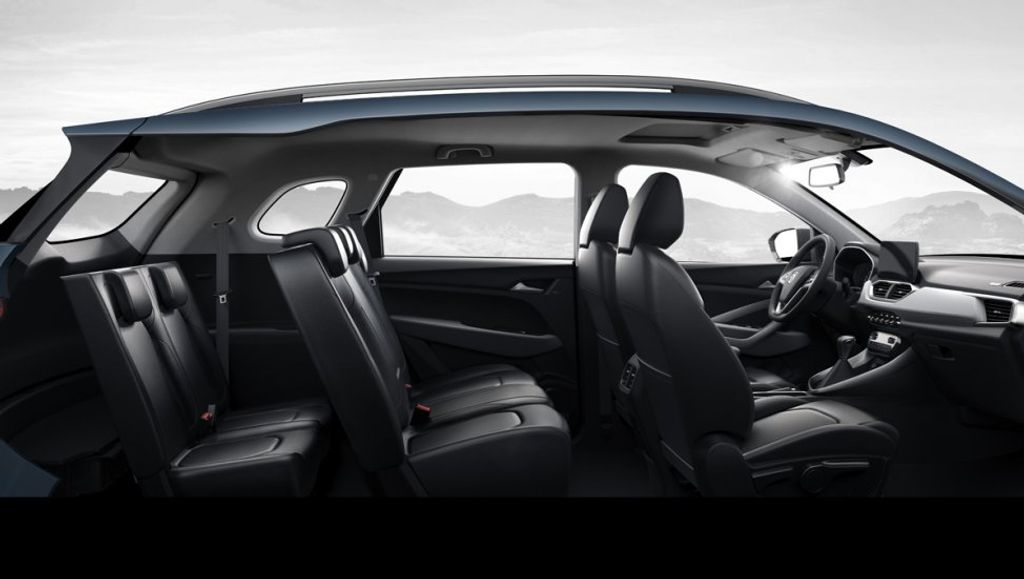 india bound mg suv   seat layout officially revealed  china