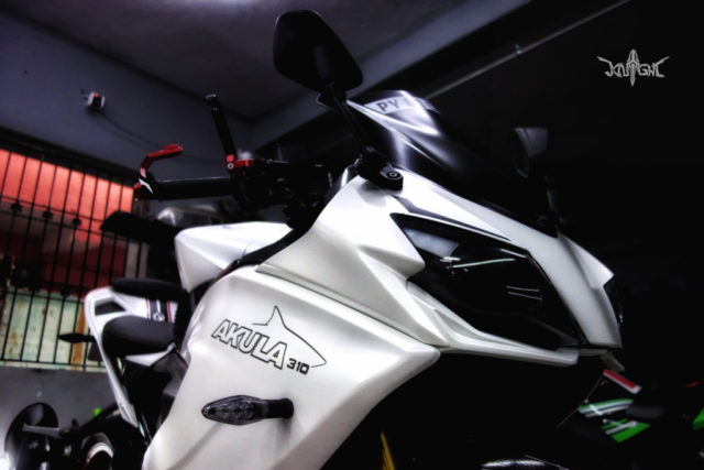 Customised TVS Apache RR310 Knight Auto Customizer 6
