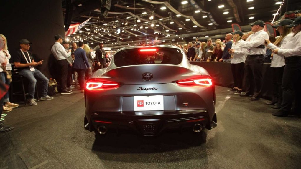 First-Production-2020-Toyota-Supra-Sold-At-Auction-2