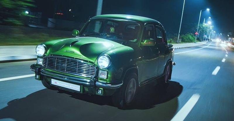 Hindustan Ambassador Transformed Into A Brilliant Looking Sedan